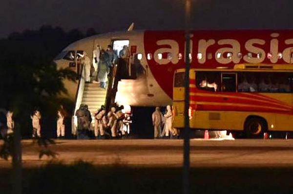 Kumpulan kedua rakyat Malaysia dari Wuhan selamat tiba