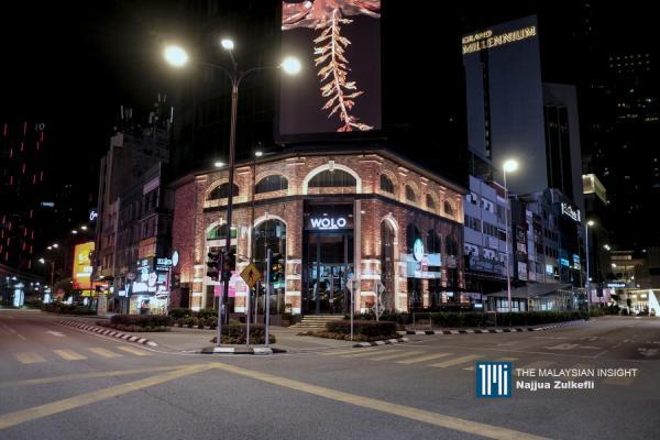 Suasana sunyi di Kuala Lumpur
