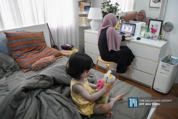 抗疫期留在家 迈入在家作业时代