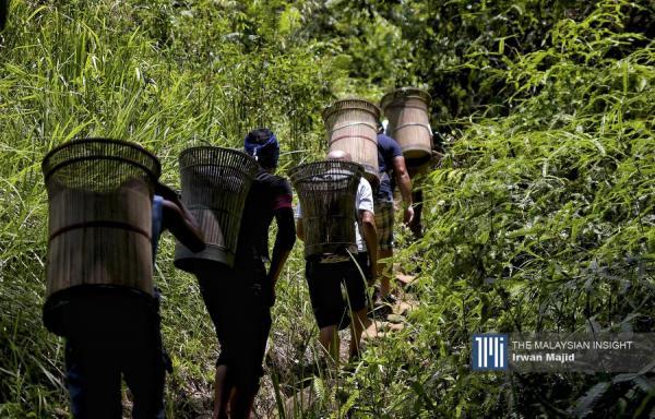 偏远地区物资运送 沙巴志工艰巨的任务