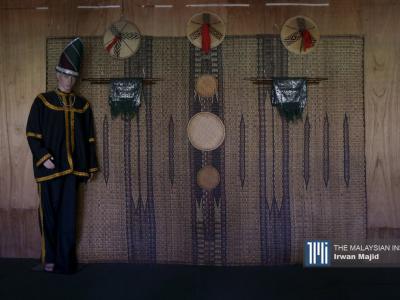 A mannequin in traditional Kadazan costume on display at the Kadazan Dusun Cultural Association in Penampang, Sabah. – The Malaysian Insight pic by Irwan Majid, June 2, 2020.