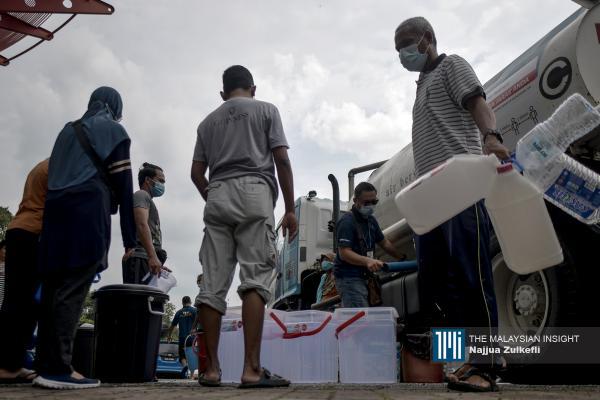 Lembah Klang dibekalkan air sementara menunggu bekalan pulih