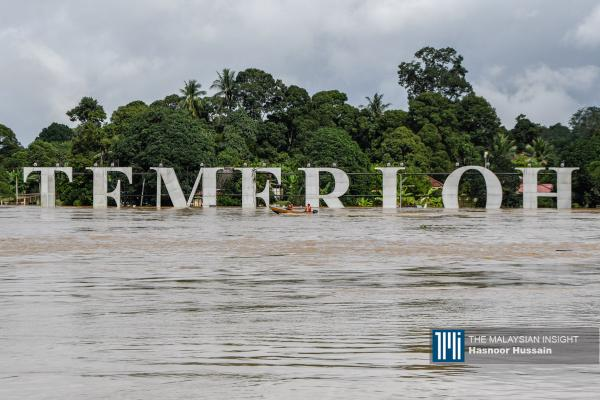Temerloh turned into 'island'