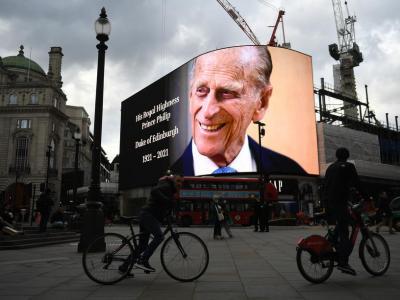 英女王伊利沙伯二世丈夫、爱丁堡公爵菲利普亲王(Prince Philip, Duke of Edinburgh)逝世,终年99岁。(图:欧新社)