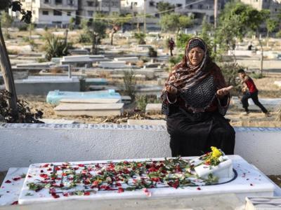 加萨地区烽火连天至少已导致109人丧生,超过621人受伤,伤亡者多是巴勒斯坦人,包含28名孩童及15名女性,以色列境内也有7人丧命。(图:法新社)