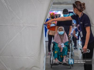 疫苗流动卡车为行动不便的长者及残障者而设,解决他们难以前往疫苗接种中心的难题。(摄影:Afif Abd Halim)
