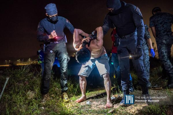 309 undocumented migrants nabbed in Dengkil raid