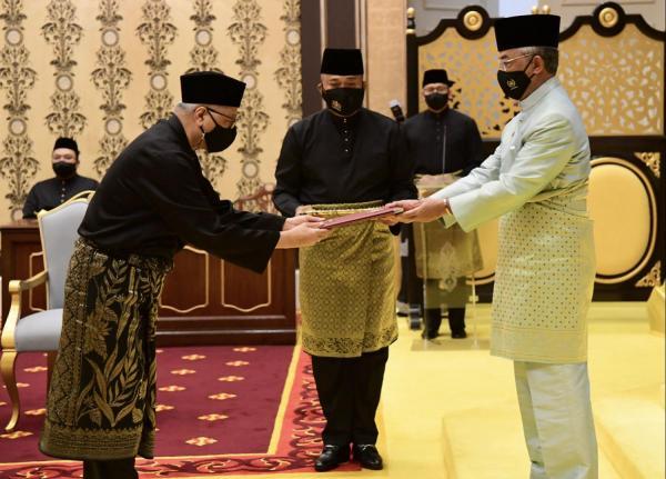 Ismail Sabri angkat sumpah PM ke-9