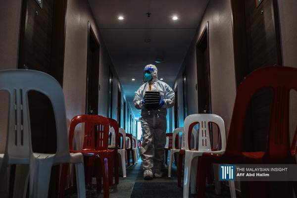 Free Covid-19 quarantine, treatment centre for the poor