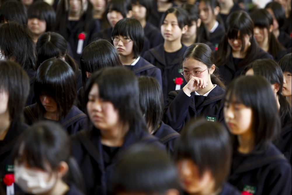 Japan's PM calls for closure of public schools over virus