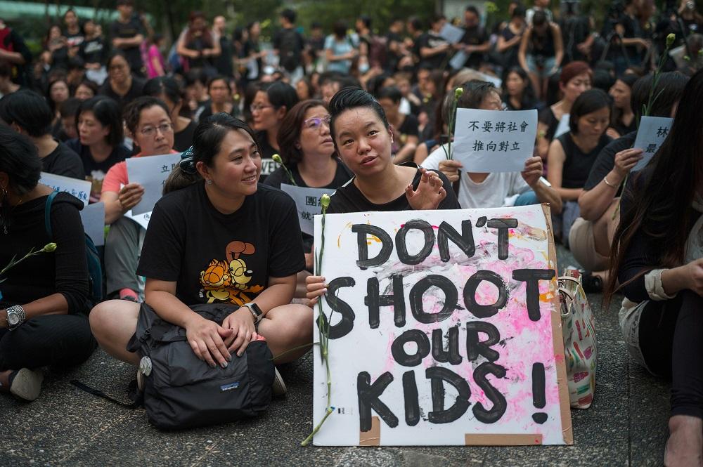 """""""反送中运动""""是继香港2014年""""雨伞运动""""后,最大规模的一场社会运动。(图:欧新社)"""