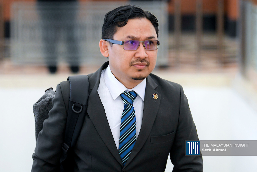 Kangar MP Noor Amin Ahmad says signing the MOU will likely bring in new reforms, which PH has been pushing for some time. – The Malaysian Insight file pic, September 14, 2021.
