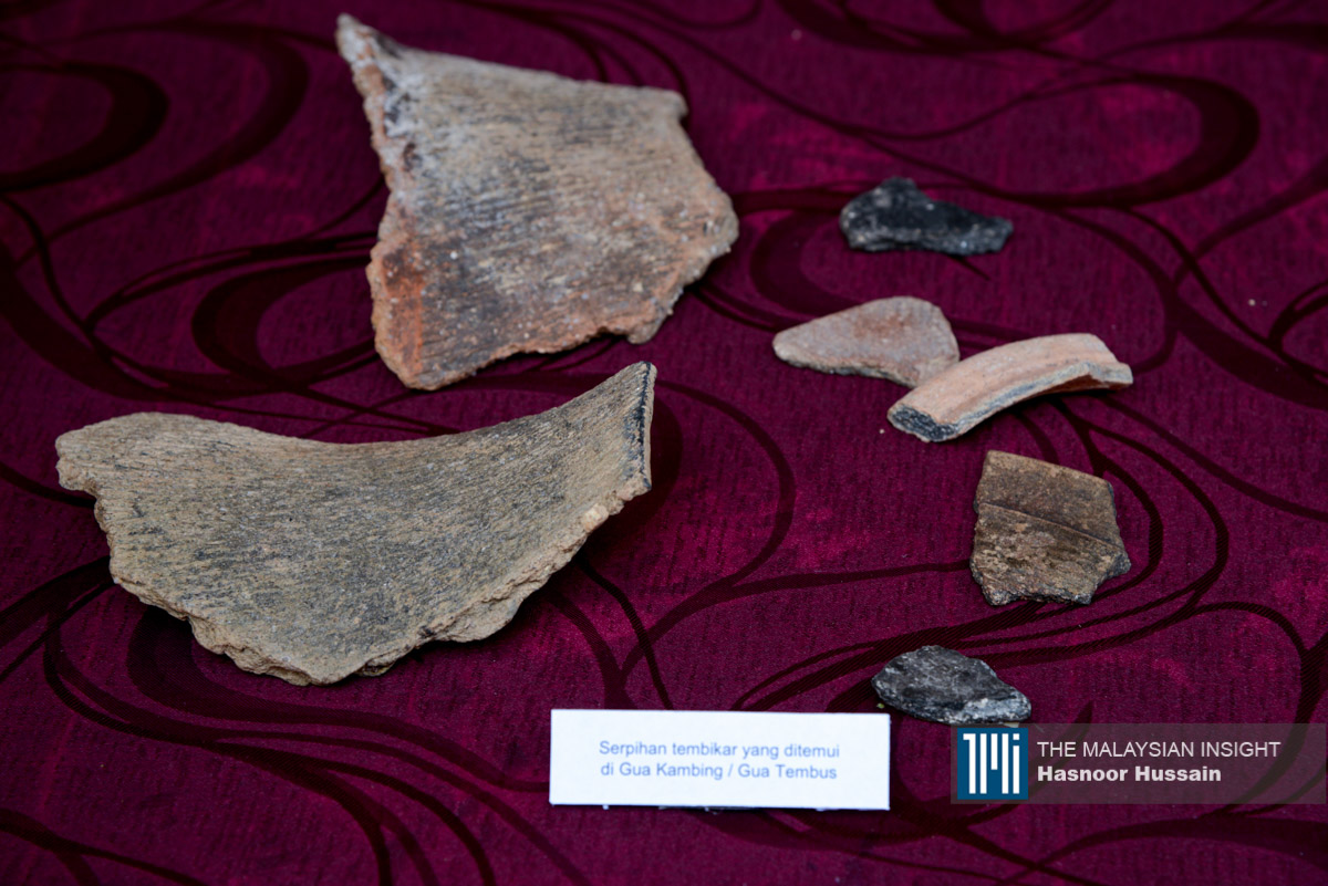 出土的石器说明,此地的石器时代社会大量的使用石头,以进行捕猎和储藏粮食。(摄影:Hasnoor Hussain)