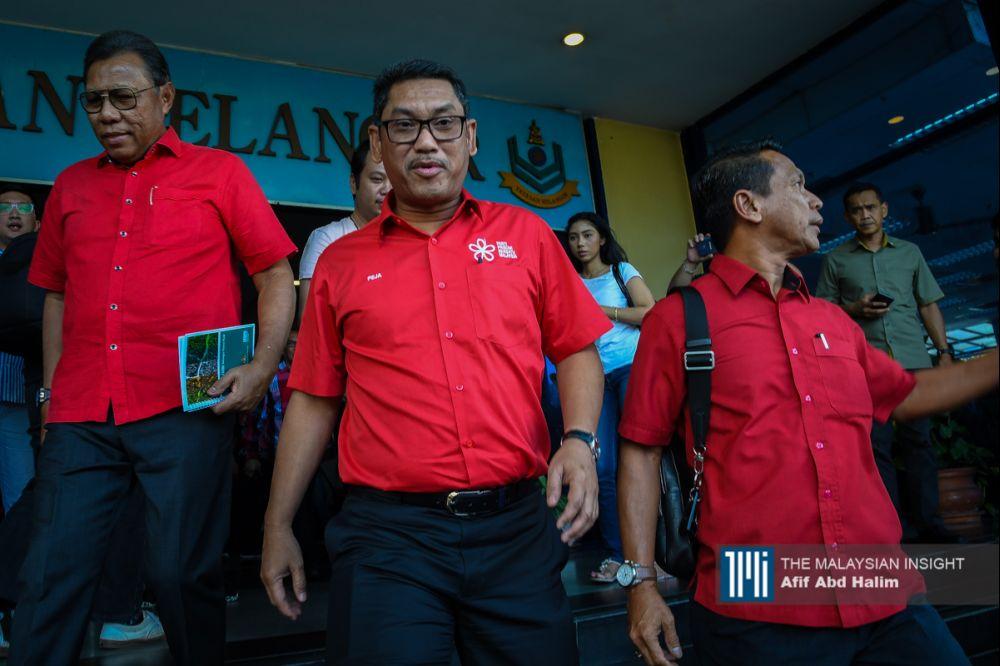霹雳州务大臣阿末费沙表明,将继续履行州务大臣的职务,并阐明州政府如常运作。(档案照:透视大马)