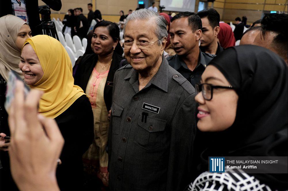 土著团结党国会议员已向国家元首表达立场,支持马哈迪继续担任首相。(档案照:透视大马)