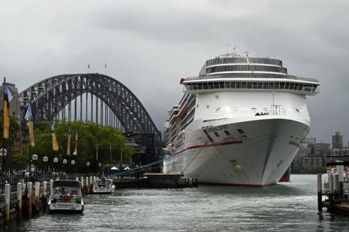 Australia in huge task to test 9,000 crew stranded on 8 cruise ships