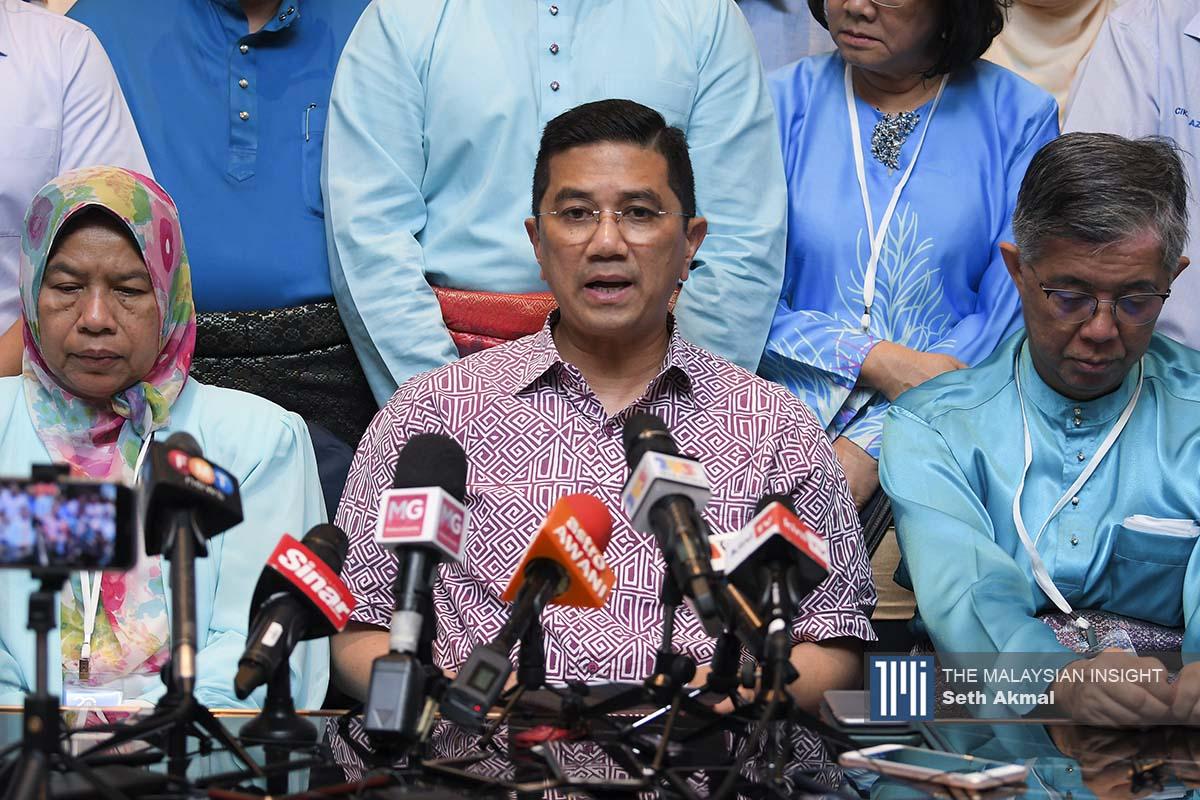 阿兹明清楚知道留在土团党没有前途,加上他还有一批非马来人议员和支持者,目前也没有地方安置他们。(档案照:透视大马)