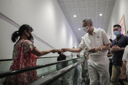 10 Julai pilihan raya kritikal bagi Singapura, kata Hsien Loong