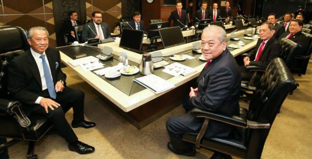 """华总与首相慕尤丁会面后,传出""""首相个人盼望政府能够承认统考""""说法。(档案照:透视大马)"""