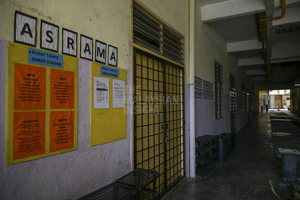 半岛马来学生联盟(GPMS)主席阿里夫促请,地方执法单位及消防局定时到宗教学校进行检查。(档案照:透视大马)