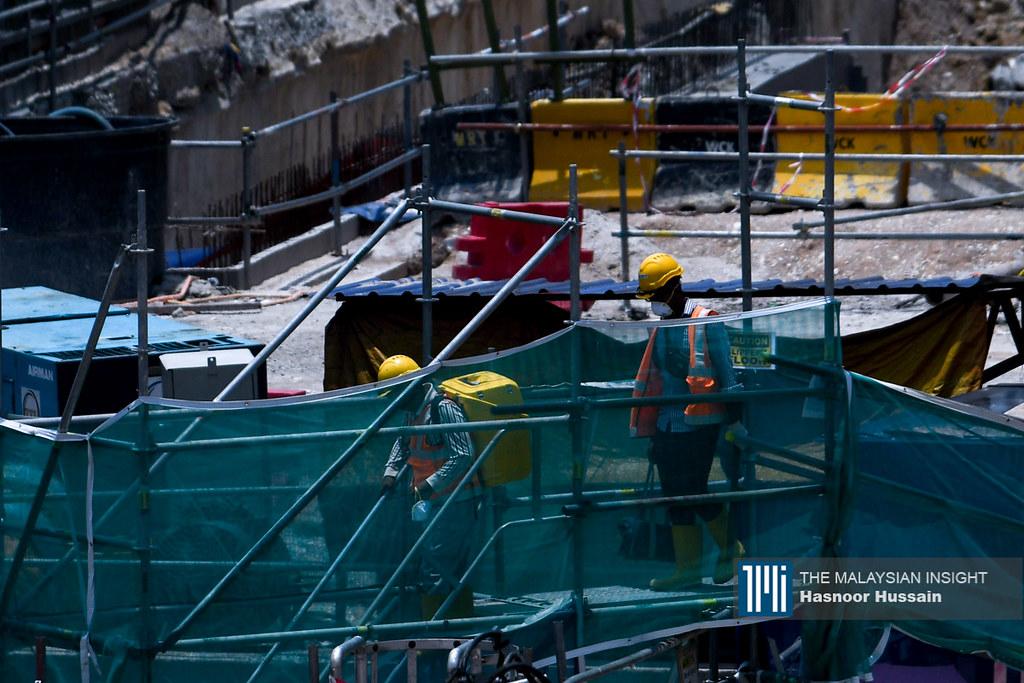 马来西亚五金机械建材联合总商会总会长许圣杰就坦言,目前业者的业绩只恢复了40至45%左右。(档案照:透视大马)
