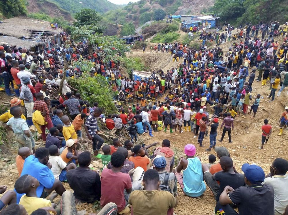 Gold Mine Collapses in DR Congo, 50 Killed