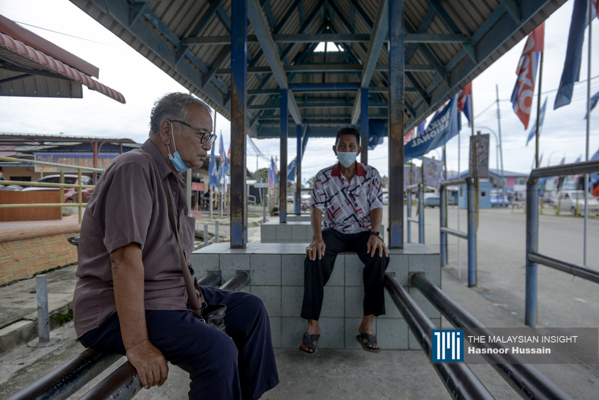 Kuala Penyu taxi driver Wan Aziz Muhammad says the Warisan government has favoured the Suluk community with administrative posts and funds, to the detriment of other communities in Sabah. –The Malaysian Insight pic by Hasnoor Hussain, September 19, 2020.