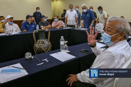 沙州首长人选悬而未决! 国阵国盟领袖会面商议