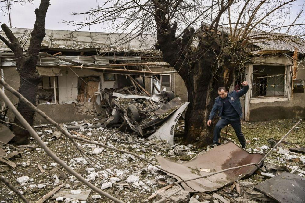 New shelling rocks Karabakh ahead of first mediation efforts