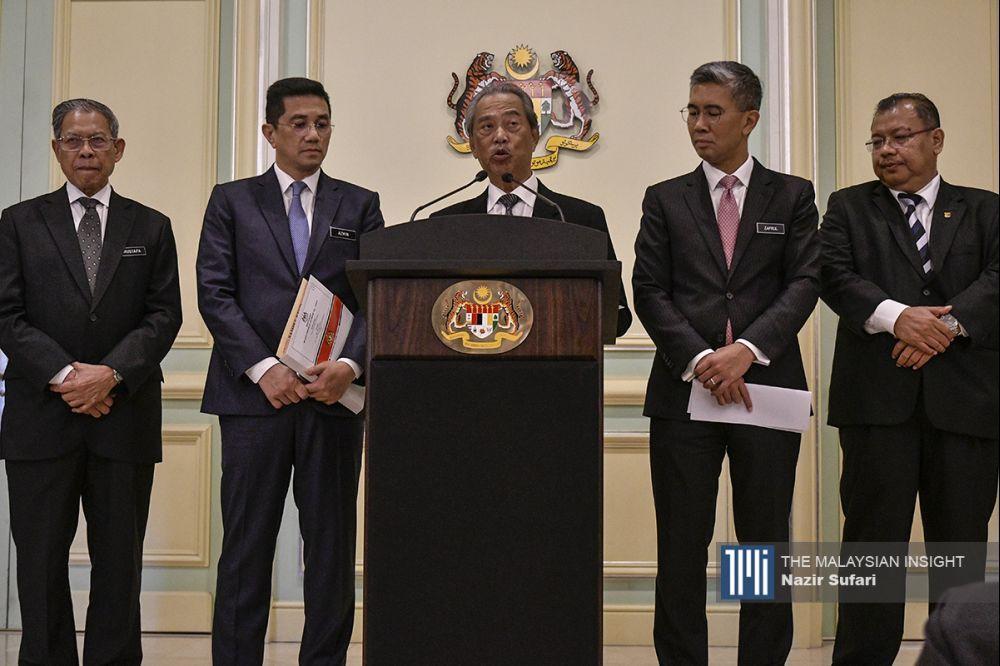 即使首相慕尤丁愿意内阁改组,巫统仍会是这场政治角力最终的输家。(档案照:透视大马)