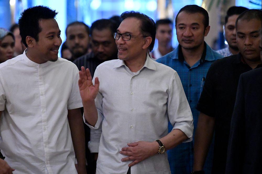 基层认为,若巫统支持安华出任首相,那么也必须遵循该党的改革议程。(档案照:透视大马)