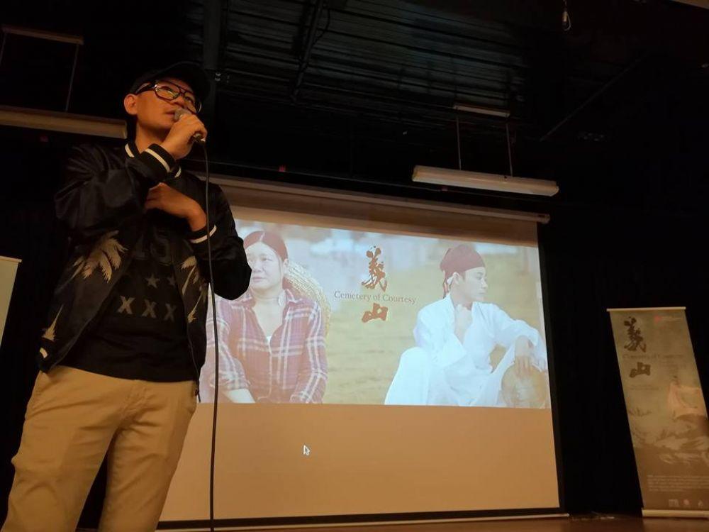 张吉安日前办记录短片《义山》办首映会,邀请近100名圈内朋友一同观赏和讨论这部入围釜山国际影展的短片,并透露自己未来的动向。(图:张吉安脸书)