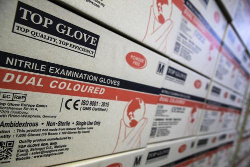 Top Glove shares hammered on news of factory closures