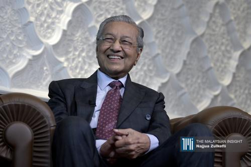 无法实现2020年宏愿 马哈迪:我的政策遭改变