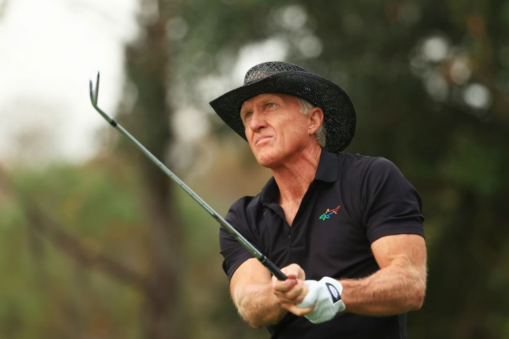 Greg Norman reveals he's in hospital with COVID-19 symptoms