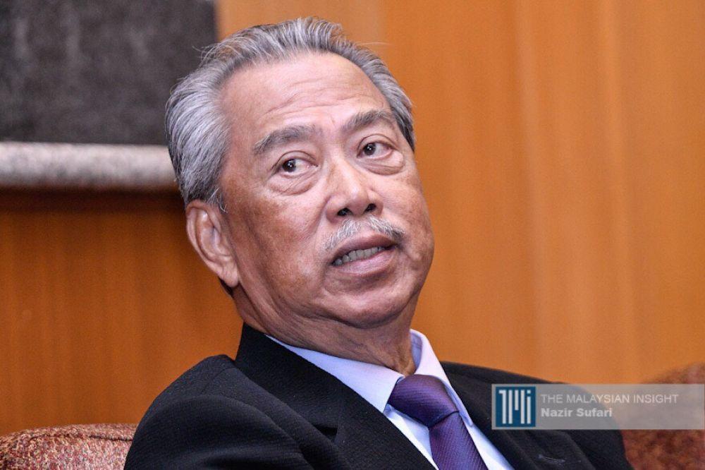 首相慕尤丁本月11日,通过电视直播向国人宣布政府决定再执行行动限制令。(档案照:透视大马)