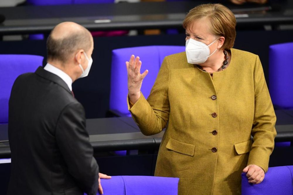 Merkel: Covid-19 vaccines might be needed for years
