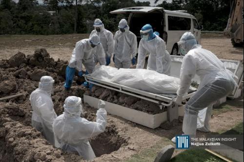 Malaysia catat 44 kematian akibat Covid-19