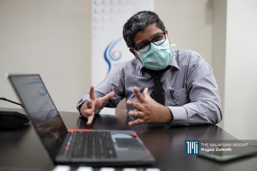 一年前主治爱滋病肺痨等疾病  医生渴望回到没冠病日子