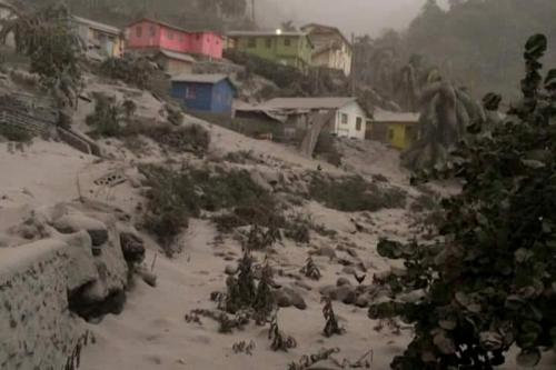 UN extends help to Caribbean residents after volcano eruption