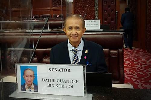 Guan Dee takes oath as federal deputy minister