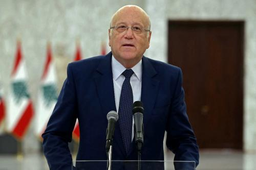 Lebanon's new PM begins talks to form long-awaited cabinet