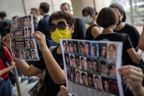 Hong Kong convicts man for terrorism in first national security trial
