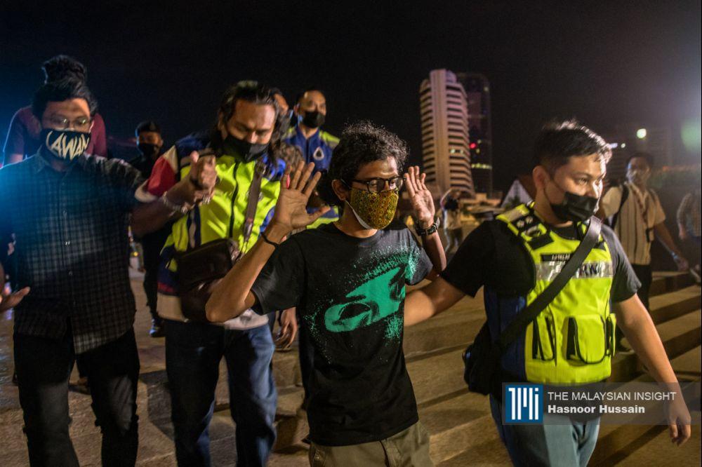 苏仪芳相信警方除了开罚单和逮捕这些聚会者之外,肯定也能选择劝导他们离开。(档案照:透视大马)