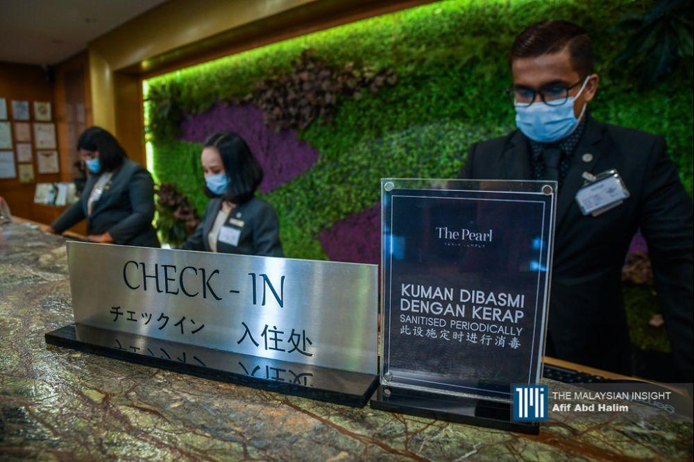 在受到疫情的影响下,酒店领域裁员人数已超过50%,业者估计今年又是亏损年!(档案照:透视大马)
