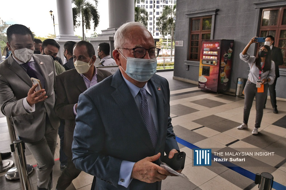 Former prime minister Najib Razak is still unpopular with large sections of society following his conviction for multiple charges of abuse of power, money laundering and criminal breach of trust over the 1MDB scandal, with further cases pending. – The Malaysian Insight file pic, September 20, 2021.