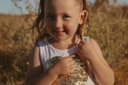 Australia sets A$1 million reward for missing 4-year-old