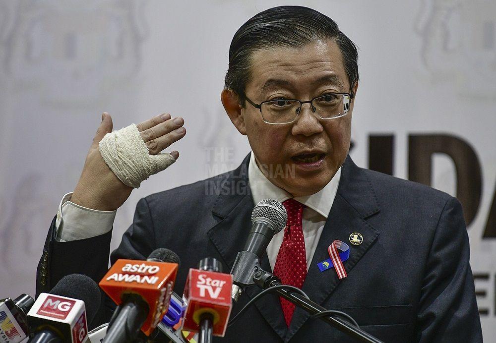 反贪污委员会对槟城高庭撤销林冠英和彭丽君的控状,并获得无罪释放感惊讶。(档案照:透视大马)