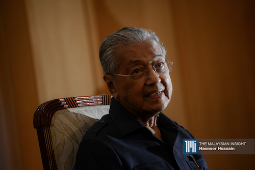 [WATCH] No wish to be PM again, says Dr Mahathir