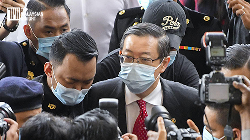 [WATCH] Guan Eng pleads not guilty to receiving RM3.3 million bribe